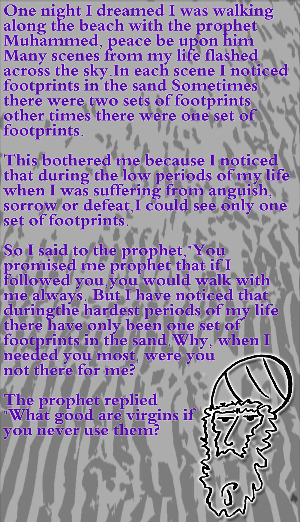 """Footprints"" by Joe Pangrazio"