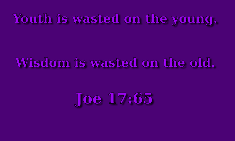 Tao of Joe: All the Wisdom Fit to Quote like a Bible Verse